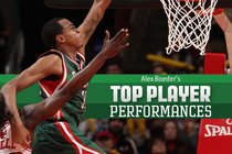 Alex Boeder's Top Player Performances