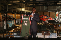 Jabari Parker's Introductory Press Conference at the Milwaukee Public Market