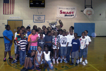 Bango visitis Mary Ryan Boys and Girls Club 2012 - 1