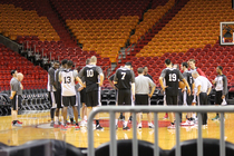Bucks Playoffs: Practice - April 22, 2013 - 1