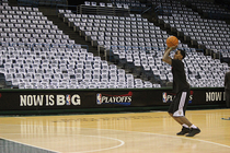 Bucks Playoffs: Shoot around - 4/25/13 - 1
