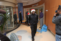 Bucks Visit Children's Hospital - 1