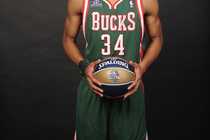 Giannis Antetokounmpo 2014 NBA All-Star Skills Challenge - 1