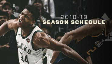 Bucks Announce Schedule for 2018-19