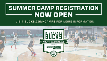 Bucks Summer Camp Registration is Open