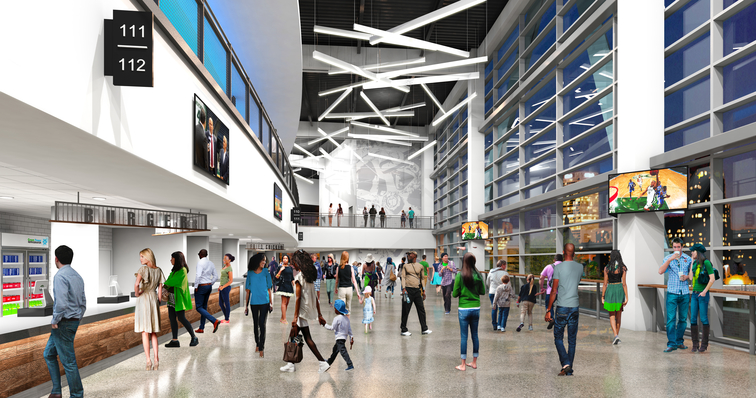Fans React To New Arena Interior Renderings Milwaukee Bucks