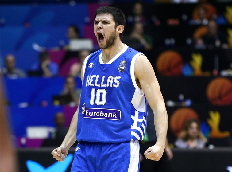 Philippines v Greece , 2014 FIBA Basketball World Cup, Seville (Spain), Day 2, Group phase