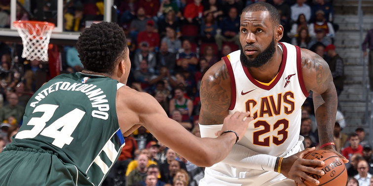 LeBron James now leads Giannis by 141k votes in All-Star voting