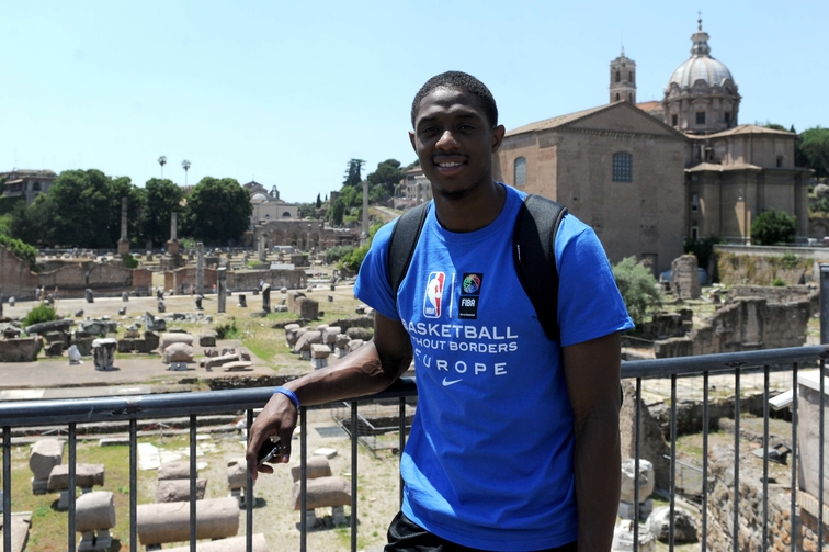 Brandon Knight - Basketball Without Borders - Rome