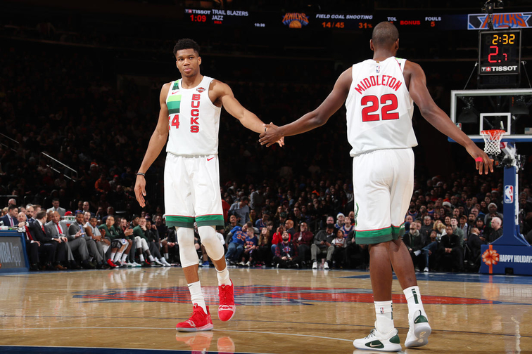 fab878ed86b6 Giannis Antetokounmpo Leads First Eastern Conference All-Star Voting Returns