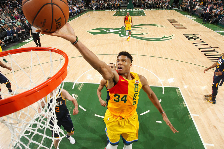 5d9ad991b Giannis Antetokounmpo Expands Eastern Conference Lead In Second All-Star  Voting Returns