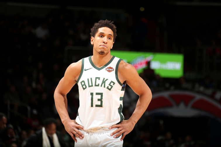 Bucks G Malcolm Brogdon to have tests on injured quad tendon