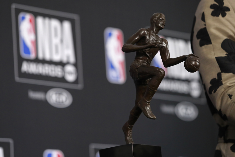 Giannis Antetokounmpo wins NBA MVP award, completing rise from unknown to superstar