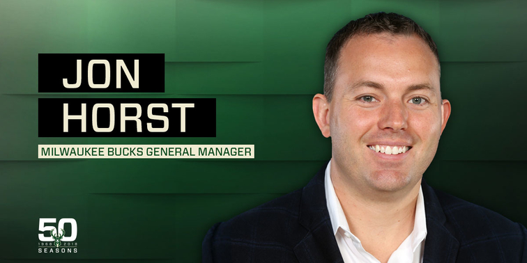 Bucks name Jon Horst as general manager
