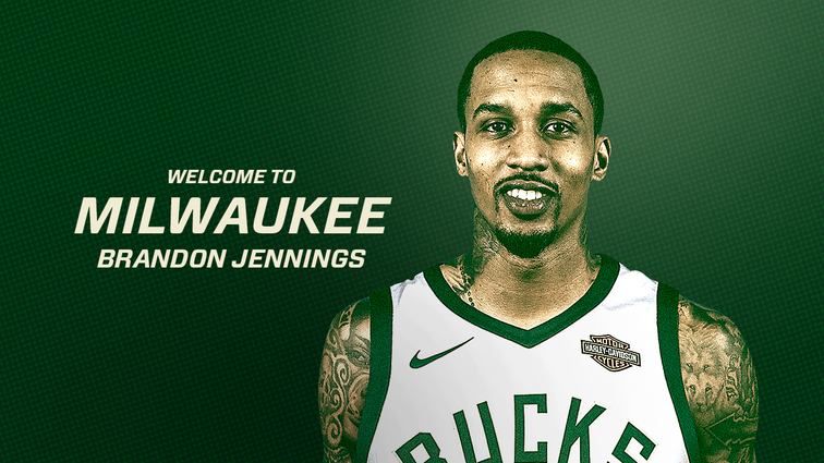 Brandon Jennings returns to Bucks on 10-day contract