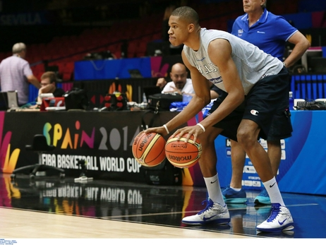 Giannis Antetokounmpo at the 2014 FIBA World Cup