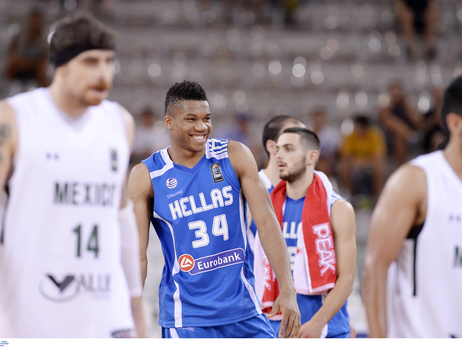Giannis Leads Greece Into Olympic Qualifying Semifinals