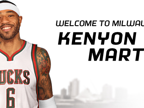 Bucks Sign Kenyon Martin to a 10-Day Contract