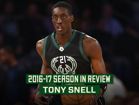 2016-17 Season in Review: Tony Snell