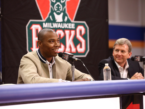 Welcome Back to Milwaukee Caron Butler
