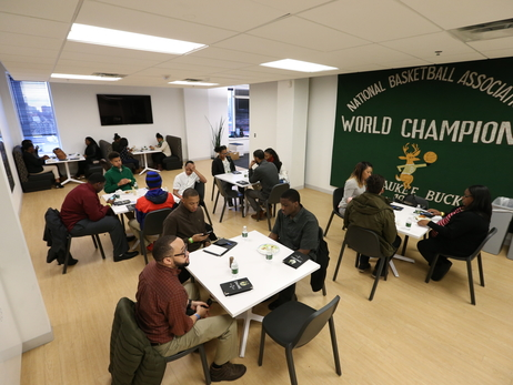 Bucks Mentor Youth at 'Own Your Future' Night