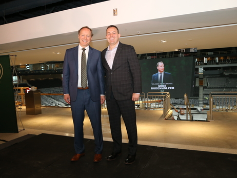 Mike Budenholzer Introduced As Bucks Head Coach