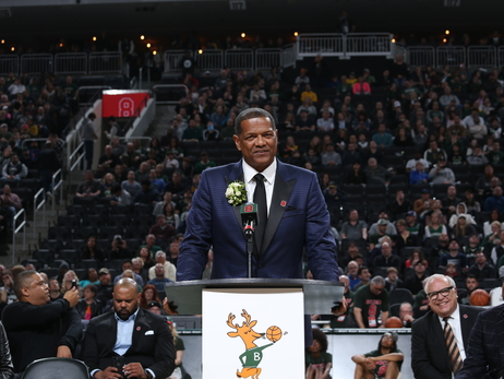Marques Johnson's Jersey Retirement Ceremony In Photos