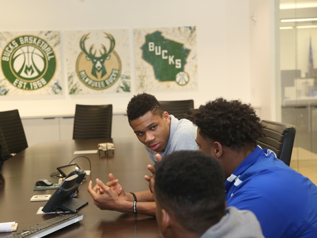 Bucks Talk Sports Careers with Youth