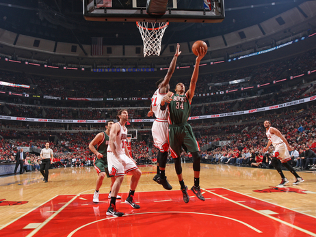 Bucks at Bulls - Game 1 - 4/18/15