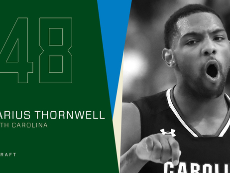 Milwaukee Bucks Trade Draft Rights To Sindarius Thornwell