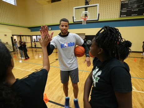 Gallery: MCW Leads Youth Basketball Clinic In Madison