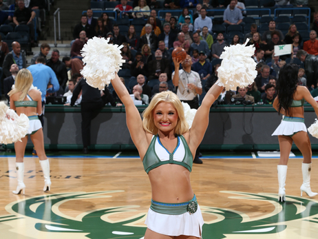 Dancers - Bucks vs Nuggets - 11/30/15