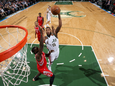 Game Action - Bucks vs Rockets - 1/23/17