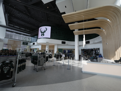 Bucks Pro Shop Inside Fiserv Forum