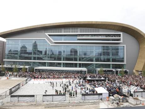 Fiserv Forum Ribbon Cutting Ceremony
