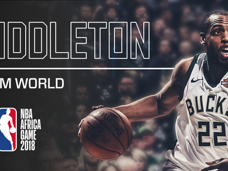 Khris Middleton To Participate In NBA Africa Game 2018