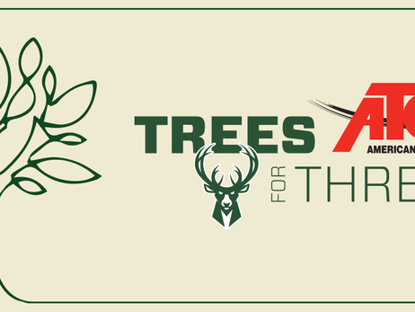 Milwaukee Bucks and American Transmission Co. Bring Back Trees for Threes for Third Season