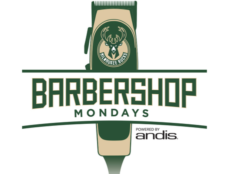 Milwaukee Bucks and the Andis Foundation Partner to Host Six 'Barbershop Mondays' With Safe & Sound