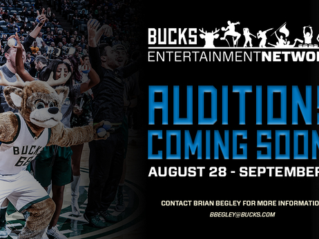 Milwaukee Bucks Announce Audition Dates for Entertainment Network Performance Groups