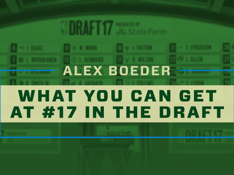 What You Can Get at #17 in the Draft