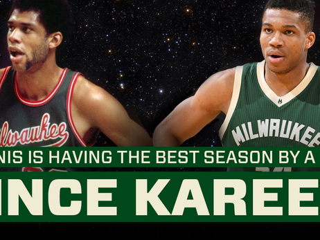 Giannis is Having the Best Season by a Bucks Player Since Kareem