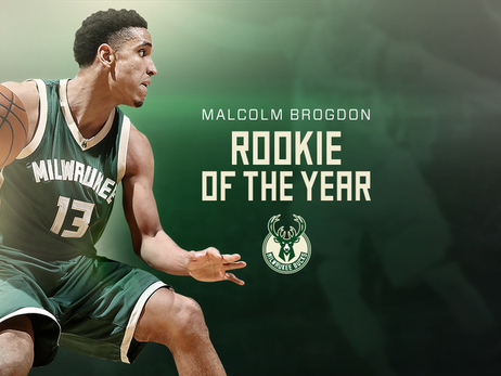 Malcolm Brogdon Wins NBA Rookie of the Year