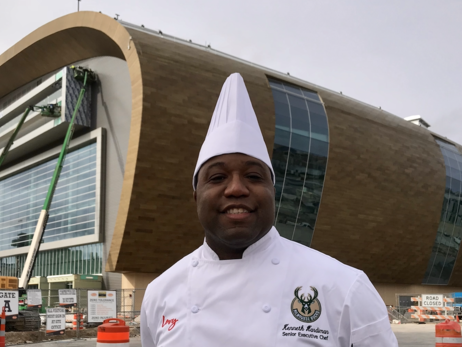 Milwaukee's Kenneth Hardiman Named Senior Executive Chef Of New Bucks Arena