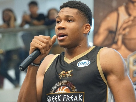 The Greek Freak Invades Manila