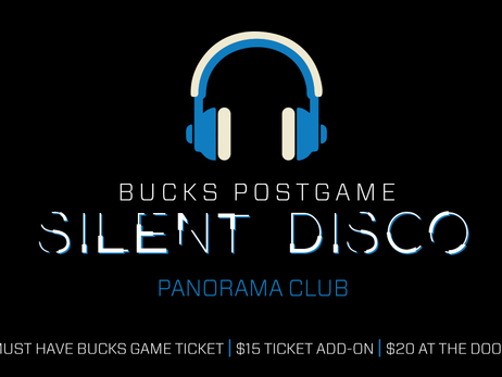 Fans Invited to Stay After Bucks Home Opener for Silent Disco at Fiserv Forum