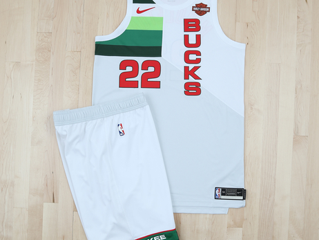 Milwaukee Bucks 2018-19 Earned Edition Jersey In Photos