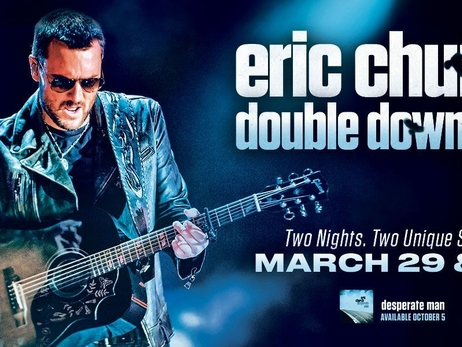 Eric Church to Perform at Fiserv Forum March 29 and 30