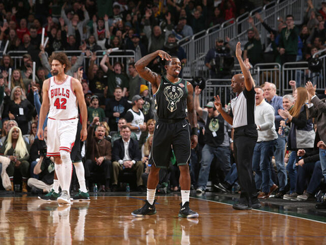 PHOTO RECAP: Bucks 123 - Bulls 104 | 11.16.18