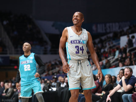 Ray Allen Participates In Celebrity Game