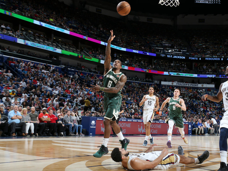Photo Recap: Bucks 130 - Pelicans 113 | 3.12.19